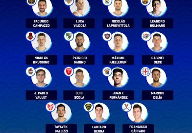 Los 15 convocados por el sueño olímpico