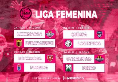 Cuatro partidos le darán brillo al domingo en la Liga Femenina